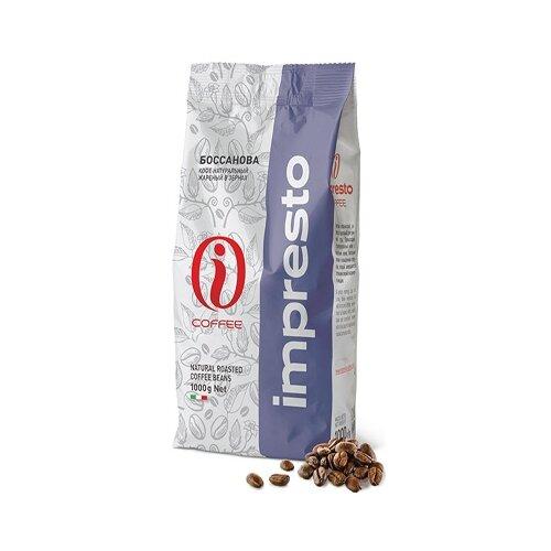 Кофе в зернах Impresto Bossanova, смесь арабики и робусты, 1 кгКофе в зернах<br>