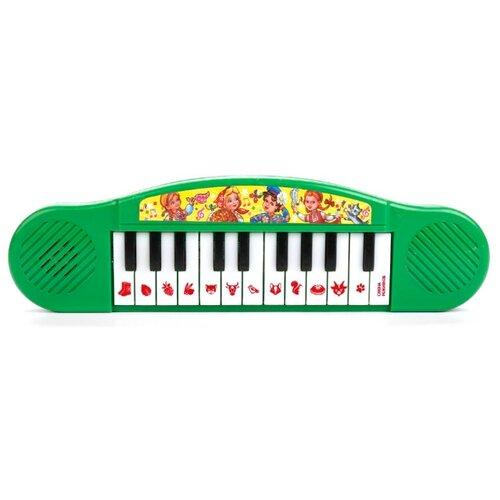 Купить Умка пианино B1371790-R7 зеленый, Детские музыкальные инструменты