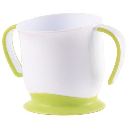 кружка на присоске happy baby baby cup with suction base 15022 red Чашка Happy Baby на присоске (15022) grass
