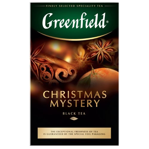 Чай черный Greenfield Christmas Mystery, 100 г greenfield english edition черный листовой чай 100 г