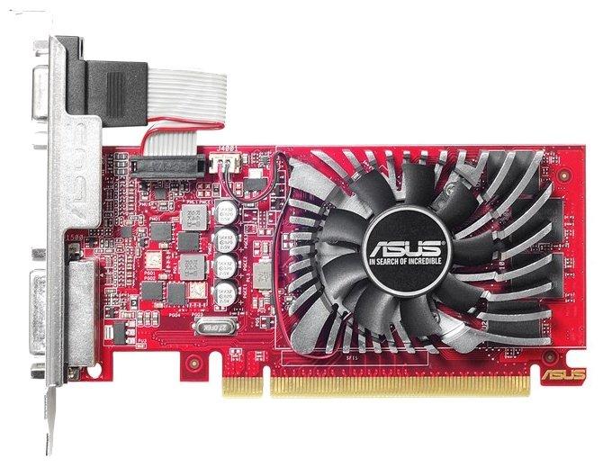 Видеокарта ASUS Radeon R7 240 730Mhz PCI-E 3.0 4096Mb 4600Mhz 128 bit DVI HDMI HDCP