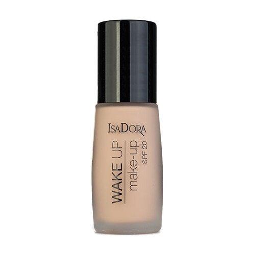IsaDora Тональный крем Wake Up Make-up SPF 20, 30 мл, оттенок: 04 Warm Beige недорого