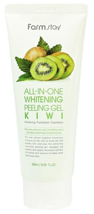 Farmstay пилинг для лица All-In-One Whitening Peeling Gel Kiwi