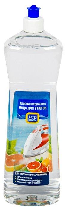 Вода парфюмированная Top House деионизированная с ароматом грейпфрута