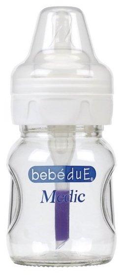 Bebe Due Бутылочка полипропиленовая с антиколиковой системой и термодатчиком Medic, 160 мл с рождения