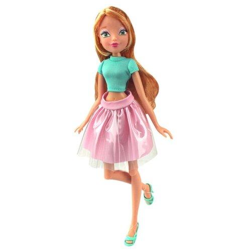 Кукла Winx Club Городская магия-2 Флора, 27 см, IW01391602, Куклы и пупсы  - купить со скидкой
