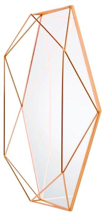 Зеркало настенное prisma медь