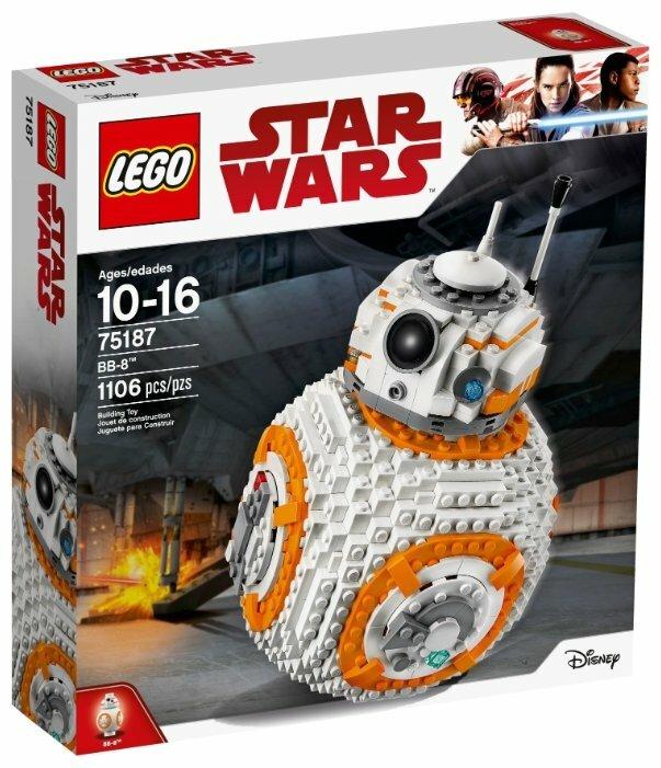Конструктор LEGO Star Wars 75187 BB-8