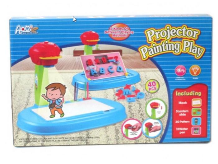 Доска для рисования детская S+S Toys с проектором (100642387)