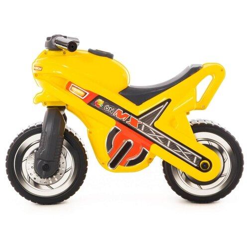 Каталка-толокар Полесье Мотоцикл МХ желтый