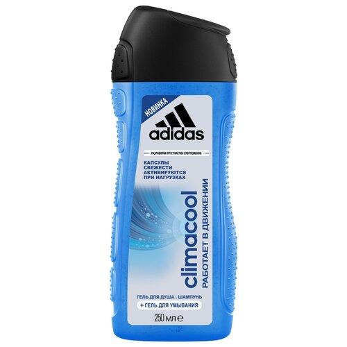 Гель для душа 3 в 1 Adidas Climacool для мужчин, 250 мл adidas гель для душа шампунь и гель для умывания body hair face after sport мужской 250 мл