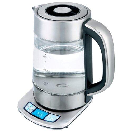 Чайник Gemlux GL-EK-897DDK, серебристый чайник электрический gemlux gl ek 9217 wf