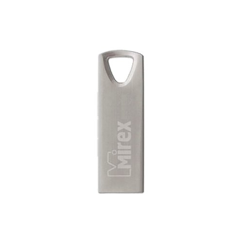 Фото - Флешка Mirex INTRO 32 GB, стальной флешка mirex swivel 16 gb белый