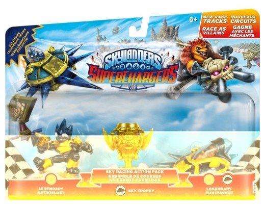 Фигурки Activision Skylanders SuperChargers - Astroblast, Sun Runner, Villain Sky Trophy