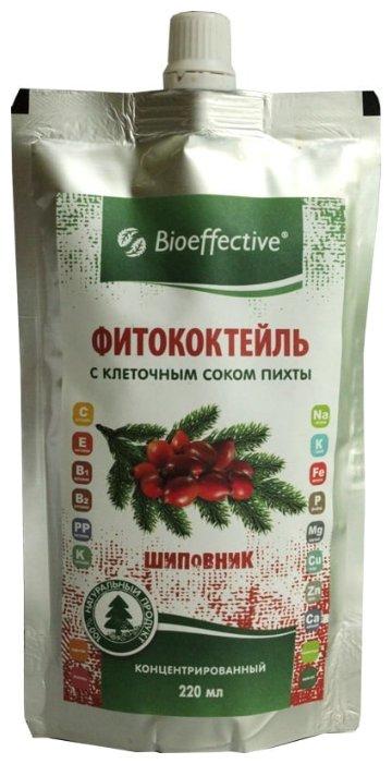 Bioeffective Фитококтейль шиповник с клеточным соком пихты