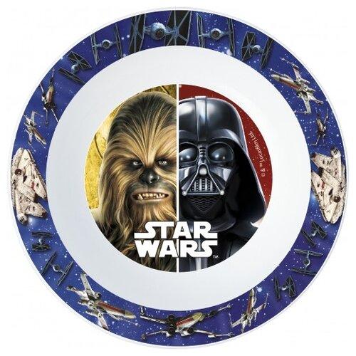 Stor Миска Звёздные войны Классика 16.5 см бело-синий