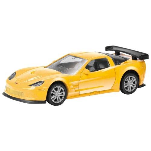Легковой автомобиль RMZ City Chevrolet Corvette C6 (344005) 1:64 желтый