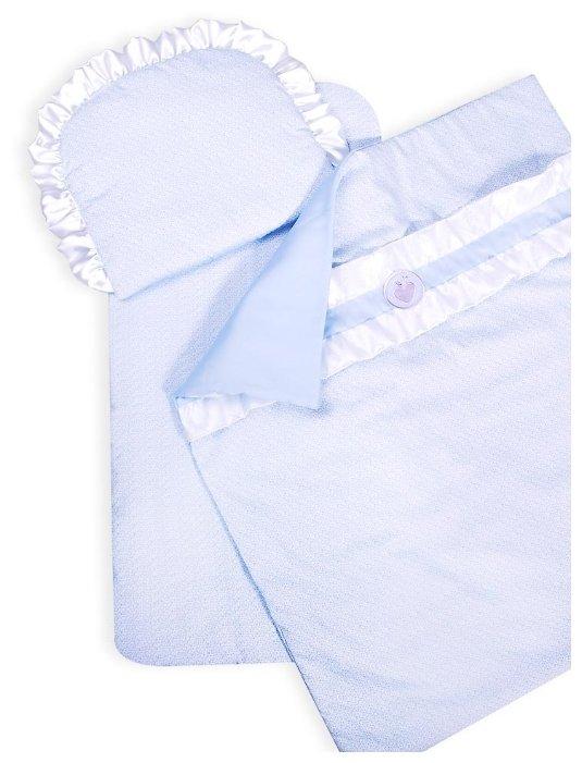 Комплект для люльки Сонный Гномик Конфетка (подушка, матрас, плед) 817