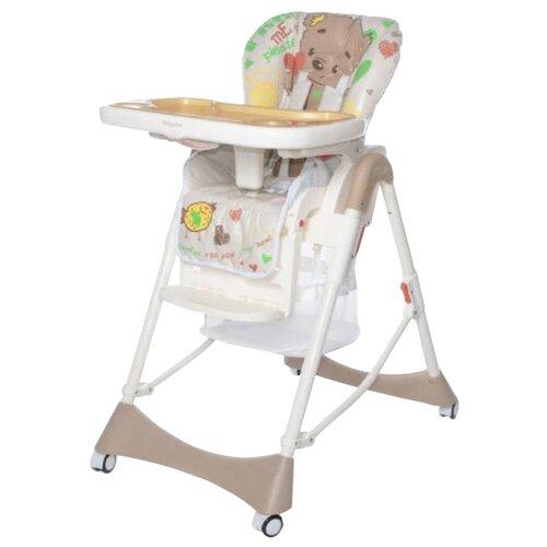 Купить Стульчик для кормления Baby Care Love Bear brown 18, Стульчики для кормления