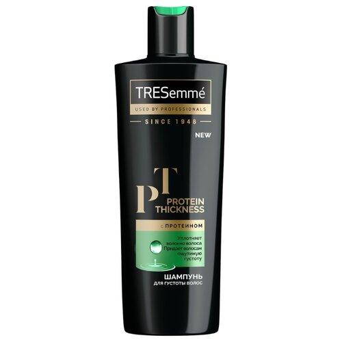 TRESemme шампунь Protein Thickness для густоты волос с протеином 400 мл шампунь с рисовым протеином