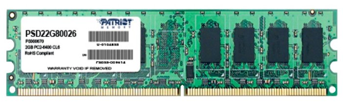 Patriot Memory Оперативная память Patriot Memory PSD22G80026