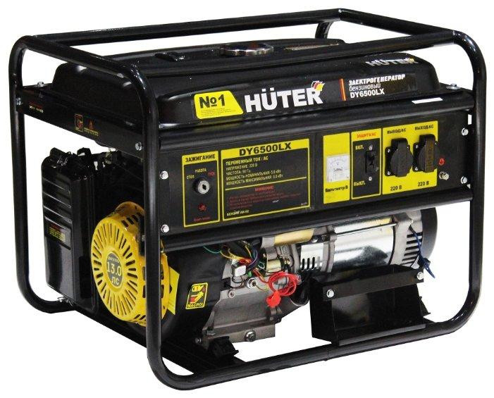 Бензиновая электростанция Huter DY6500LX