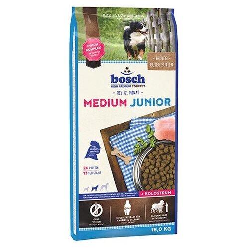 Сухой корм для щенков Bosch Junior 15 кг (для средних пород)