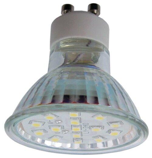 Лампа светодиодная Ecola T1TV30ELC, GU10, MR16, 3Вт — купить по выгодной цене на Яндекс.Маркете