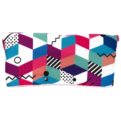 Купить МиМиМи Муфта для рук Авангард разноцветная с геометрическими фигурами, Аксессуары для колясок и автокресел