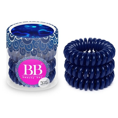 цена на Резинка Beauty Bar браслет 3 шт. темно-синий