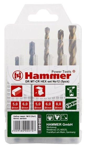 Набор сверл Hammer 202 912 DR No12