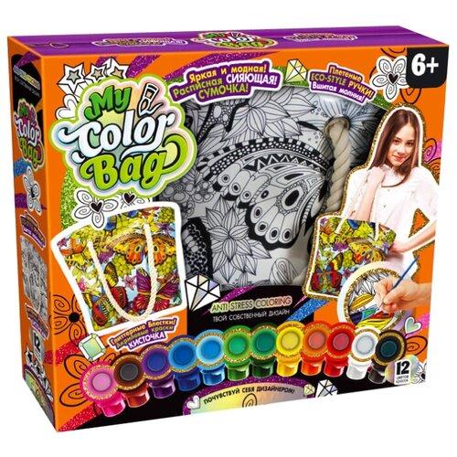 Danko Toys Сумка-раскраска My Color Bag Бабочки (COB-01-03)Роспись предметов<br>