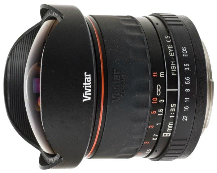 Объектив Vivitar 8mm f/3.5 Fisheye Canon EF
