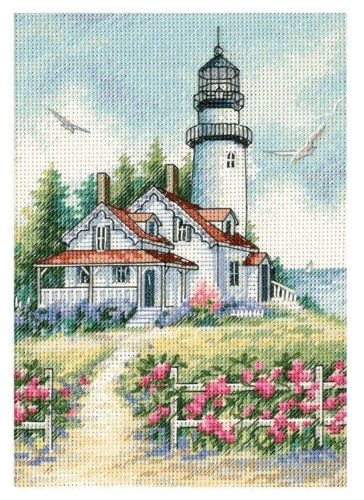 Dimensions Набор для вышивания крестиком Живописный маяк 13 х 18 см (65057)