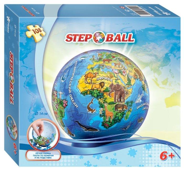 Пазл Step puzzle StepBall Глобус (98119), 108 дет.