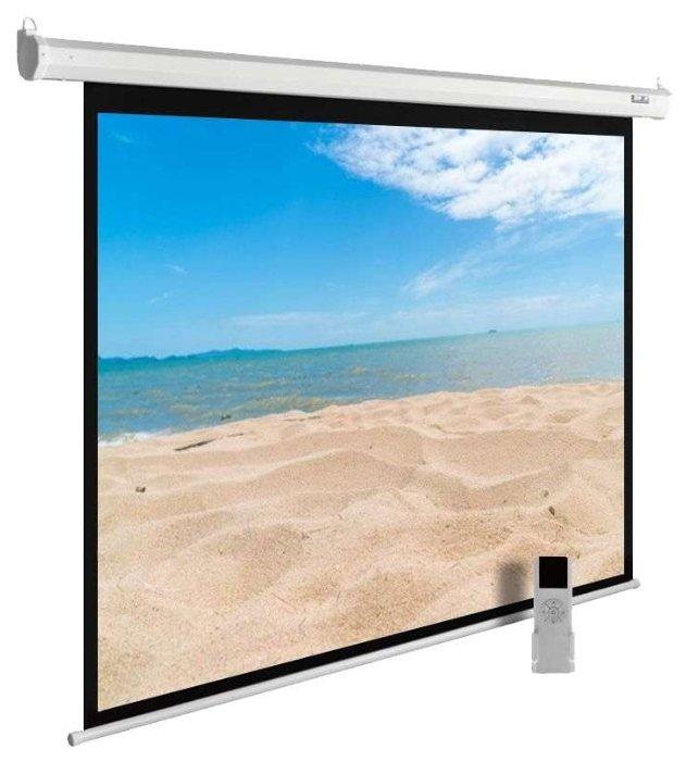 Экран Cactus 180x240см MotoExpert 4:3 настенно-потолочный рулонный белый (моторизованный привод) CS-PSME-240x180-WT