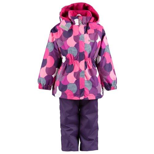 Комплект с полукомбинезоном KERRY Liisi K19031 размер 116, 02640Комплекты верхней одежды<br>