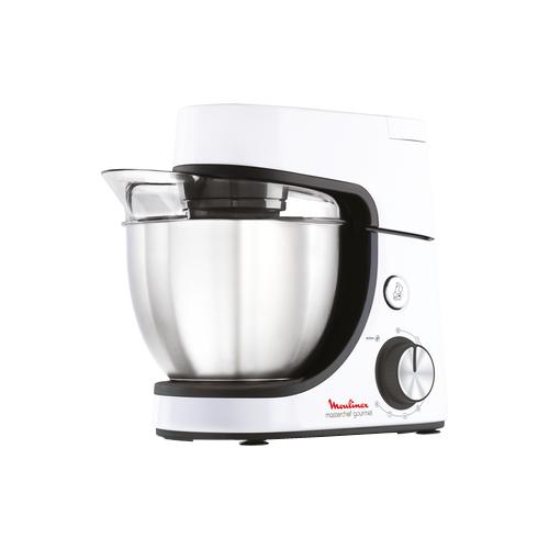 Комбайн Moulinex QA5101 Masterchef Gourmet белый/серебристый/черный блендер moulinex dd64k832