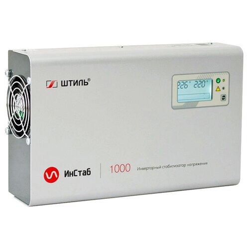 Стабилизатор напряжения однофазный Штиль IS1000 (0.75 кВт) серый
