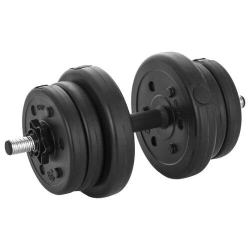 Гантель разборная Lite Weights 3103CD 10 кг бодибар lite weights 33 х 1200 мм 6 кг