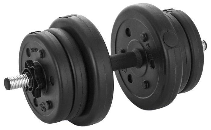 Гантель разборная Lite Weights 3103CD 10 кг
