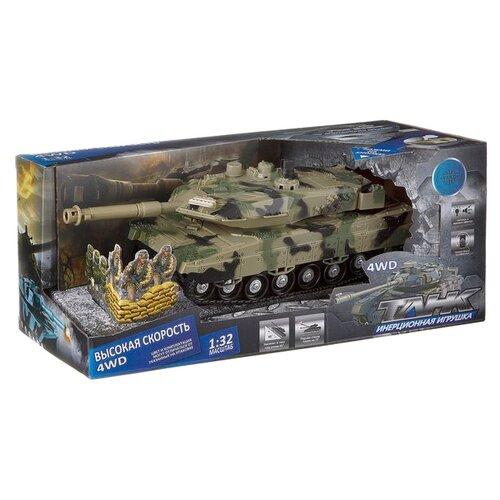 Танк Yako 6506-4 1:32 болотный камуфляж танк yako амфибия y 12272002