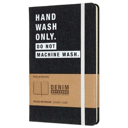 Купить Блокнот Moleskine Hand Wash 130х210, 120 листов 485915(LCDNQP060H), Блокноты