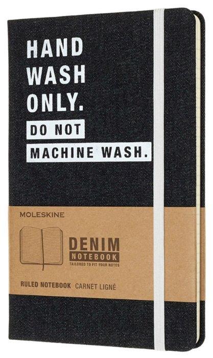 Блокнот Moleskine Hand Wash 130х210, 120 листов 485915(LCDNQP060H)