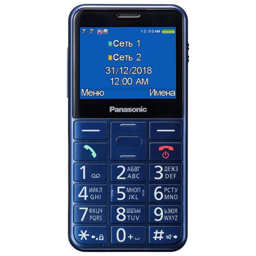 Телефон Panasonic KX-TU150RU синий