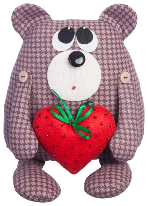 Малиновый слон Набор для изготовления мягкой игрушки Медвежонок Проша (ТК-005)