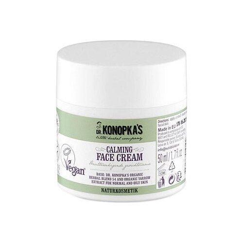 Dr. Konopka's Calming face cream Крем для лица успокаивающий, 50 мл успокаивающий тонер для лица ac collection calming liquid intensive 125мл