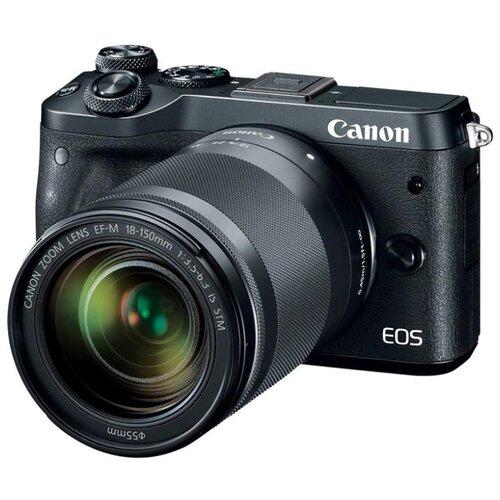 Фото - Фотоаппарат Canon EOS M6 Kit черный фотоаппарат