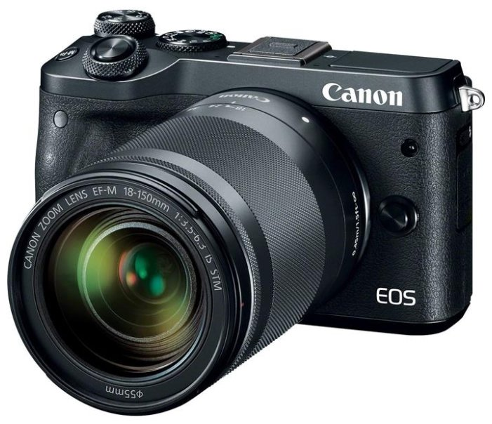 Canon EOS M6 Kit EF-M 15-45 IS STM Black