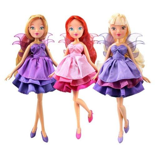 Кукла Winx Club Волшебное платье, 27 см, IW01401600 раскраска winx club
